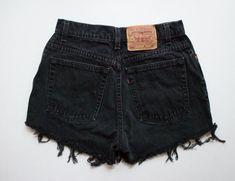 "ALL SIZES Vintage ""CRONUS"" Levis High Waisted Denim Shorts"