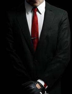 agent 47, agent 47 suit, hitman, hitman suit, black suit