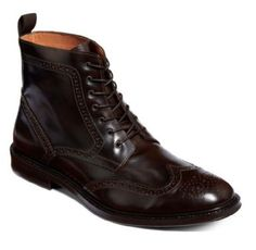 Stafford Kent Wingtip leather Boots brown men's size 9, 10, 10.5 NEW  49.99 http://cgi.ebay.com/ws/eBayISAPI.dll?ViewItem&item=231282380194