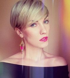 Pixie Hairstyles for Long Face Shape - Women Short Haircuts for 2015