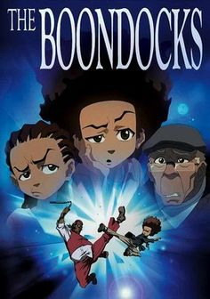 The Boondocks (2005) Based on the comic strip by Aaron McGruder, this satirical animated series follows the socially conscious misadventures of Huey Freeman, a preternaturally smart 10-year-old who relocates from inner-city Chicago to the suburbs. Now caught between the shallow schemes of his gangsta-rap-loving kid brother and the old-school ways of his belt-wielding granddad, Huey rises above the clash of cultures by sharpening his wit -- and his mind.