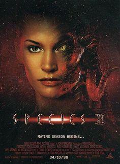 Species ll movie poster