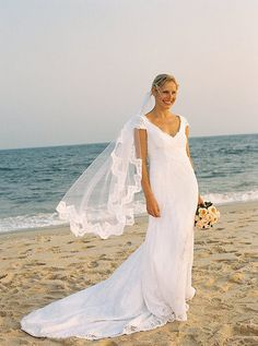 Long with lacy trim