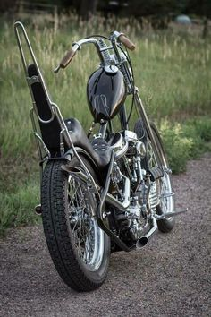 Old school chopper Pan Head