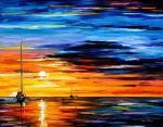 Far and away oil painting On Canvas by L.Afremov by Leonidafremov