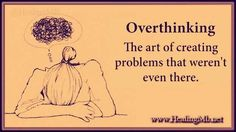 When worrying becomes excessive, it can lead to feelings of high anxiety and even cause you to be physically ill #OverThinking #Mentalhealth