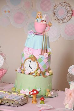 Alice in Wonderland Birthday Party Ideas | Photo 2 of 61 | Catch My Party