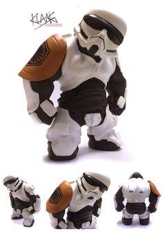 'Tequila Trooper' custom Stormtrooper | Artist: Klang