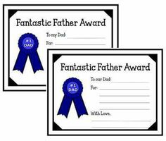 For dear ole dad....