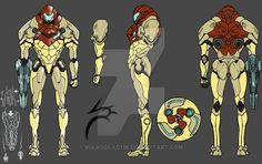 metroid reboot by on DeviantArt Metroid Samus, Metroid Prime, Samus Aran, Game Concept Art, Armor Concept, Character Concept, Character Art, Video Game Art, Video Games