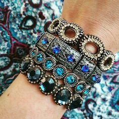 mix-de-pulseiras-azuis-boho-chique-acessórios-comprar                                                                                                                                                      Mais
