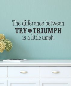 Love this 'A Little Umph' Wall Quote on #zulily! #zulilyfinds