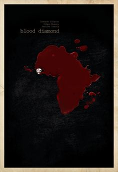 Blood Diamond - movie poster - Edgar Ascensão