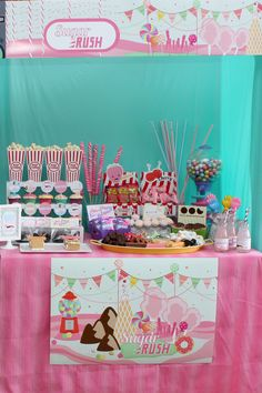 wreck it ralph party favors | Part 2 of our Wreck it Ralph birthday party ..... Sugar Rush! This is ...