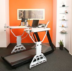 TrekDesk Treadmill Desk | 5 Ways to Work Out While You Work