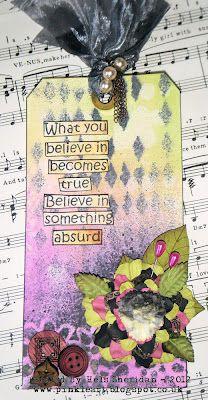 Ink on My Fingers: Believe In Something Absurd...