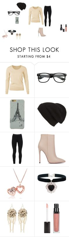 """""""My Average Hipster Outfit"""" by dayzja-sims ❤ liked on Polyvore featuring Phase 3, Peace of Cloth, Akira Black Label, Rock 'N Rose, Bebe and ORLY"""