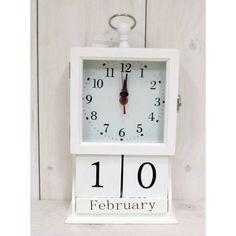 Hodiny s kalendářem Clock, Wall, Home Decor, Keys, Watch, Decoration Home, Room Decor, Clocks, Walls