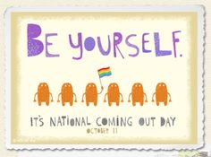 National Coming Out Day, GLBT, equality