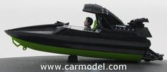 EDICOLA BONDCOL082 1/43 MOTORBOAT F-COM/09 TWINE 1999 - 007 JAMES BOND - THE WORLD IS NOT ENOUGH - IL MONDO NON BASTA