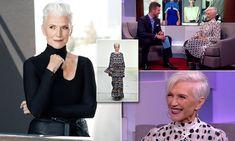 Model Maye Musk reveals beauty secrets on DailyMailTV Women, Beauty, Musk, Proud Mom, Jesse Palmer, Maye Musk, Beauty Secrets, Career Fashion, Model Pictures