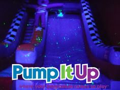 glow in the dark party   Zoom-A-Thon: Pump It Up Glow-in-the-Dark Party