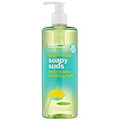 Bliss - Soapy Suds Body Wash/ Bubbling Bath in lemon and Sage.  I love this stuff....Also blood orange and white pepper is amazing!