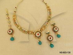 NS-803-135 || Simple But Attractive Originated Antique Necklaces