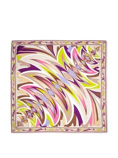 Just got this Pucci scarf.  Love it.