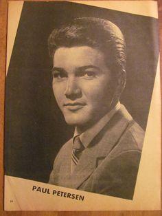 Paul Petersen, Full Page Vintage Pinup