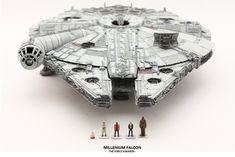 Charistma's Latest Work: Bandai x Star Wars The Force Awakens 1/144 Millennium Falcon. PhotoReview No.18 Big Size Images http://www.gunjap.net/site/?p=285392