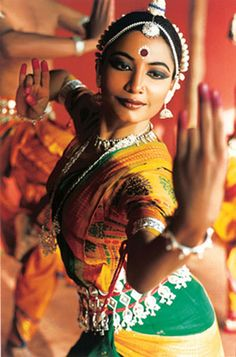 odissi..the first type of dance I learned, an ancient form usually only done in temples..