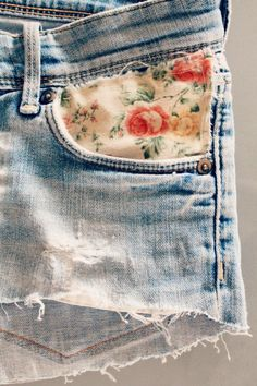 another cute idea for boring jeans