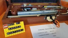 Replica Lego Joseph Manton 1830 MOC by Andrea Montuori