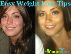 Easy Weight Loss Tips that'll help you to lose weight and keep it off.