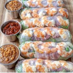 Vietnamese Shrimp and Pork Spring Rolls – - Azjatyckie przepisy - Pork Spring Rolls, Shrimp Spring Rolls, Seafood Dishes, Seafood Recipes, Cooking Recipes, Pork Recipes, Vietnamese Spring Rolls, Vietnamese Pork Roll, Vietnamese Salad Rolls