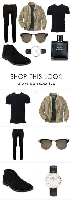 """""""Street Style"""" by catherine-chapman ❤ liked on Polyvore featuring Simplex Apparel, Topman, Tom Ford, Daniel Wellington, Chanel, men's fashion and menswear"""