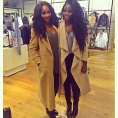 Jennie Jenkins BeautyByJJ Camel Coat Squad Shxt