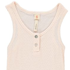 Gram Embellished Ribbed Vest Top-product £20