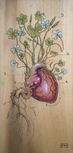 Fay Helfer - Clover Heart