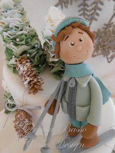 Vacanze sulla neve - by oriettabasso @ CakesDecor.com - cake decorating website