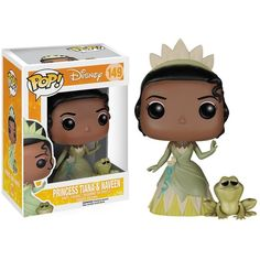Princess The Frog Princess Tiana (€6,76) ❤ liked on Polyvore featuring toys