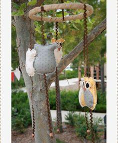 Woodland party by MyOwlBarn, via Flickr