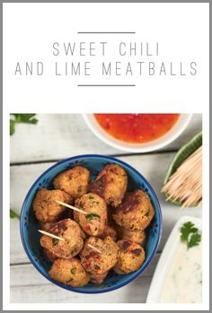 These Sweet Chili and Lime Turkey Meatballs make a tasty on-the-go snack, perfect for healthy munching!  Visit our site for more fresh ideas at http://www.canadianturkey.ca.