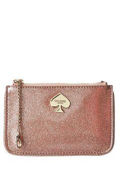 Kate Spade glitter pouch #wishlist