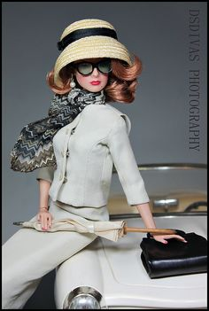 Grace Kelly of Monte Carlo, Couture Fashion Doll.