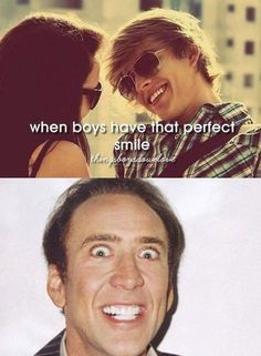 Pretty sure the guy up top does have the perfect smile though>>>>>>>>