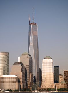 Freedom Tower - Jersey City view
