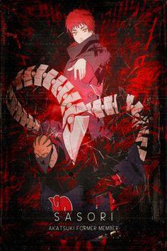 """Beautiful """"Akatsuki Sasori"""" metal poster created by SyanArt . Naruto Shippuden Sasuke, Anime Naruto, Boruto, Wallpaper Naruto Shippuden, Naruto Cute, Kakashi Sensei, Naruto Wallpaper, Itachi Uchiha, Naruto And Sasuke"""