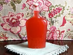 Homemade Rhubarb Syrup - Simple Step-by-Step Recipe for Rhubarb Infused Simple Syrup from Tori Avey Rhubarb Syrup, Breakfast Plate, Rhubarb Recipes, Baked Donuts, Pancakes And Waffles, Elderflower, Canning Recipes, How Sweet Eats, Simple Syrup